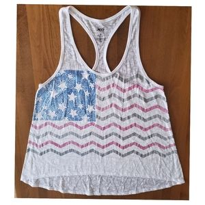 Jennifer Moore Tank Sz Xl White